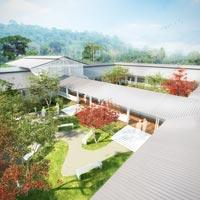 typová nemocnice pro země rovníkové Afriky